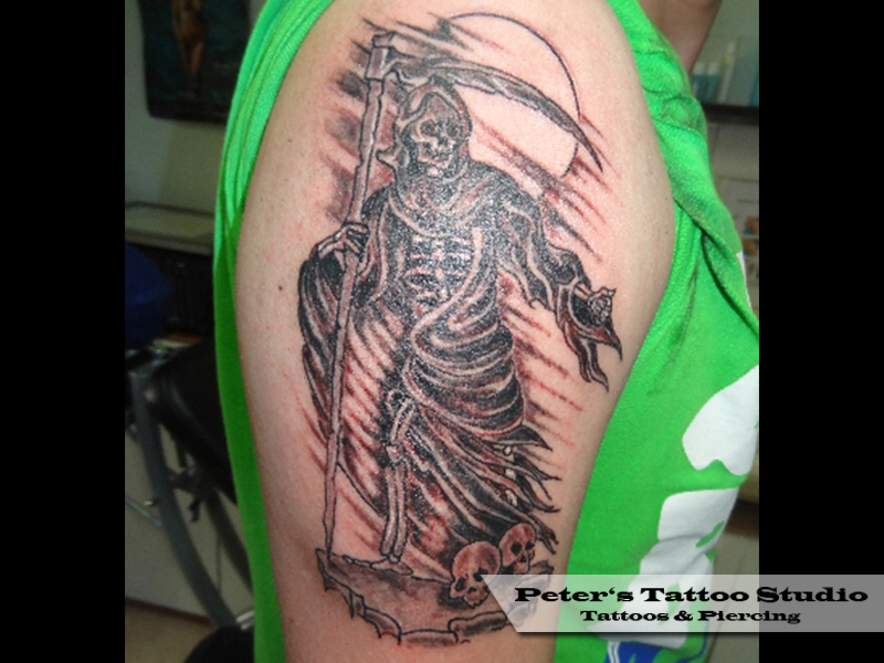 Skull | www.pp-tattoos.com